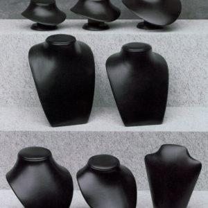 Espositori per collana nero