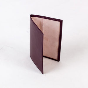 Business card holders - BORDEAUX PINK