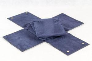 Necklaces pouch 16×19 – BLUE